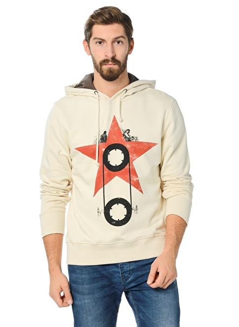 Kaft Sweatshirt Krem